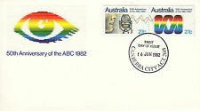 FDC - 1982-06-16 50th Anv of the ABC 1982
