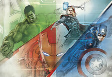 AVENGERS GRAPHIC ART by MARVEL Photo Wallpaper Wall Mural  Made by KOMAR 368x254