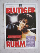 Filmplakatkarte  videoplus  Blutiger Ruhm   Robert Vaughn , Leah King Pinsent