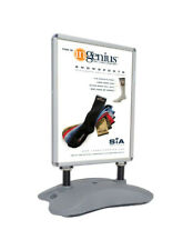 Outdoor Wind Resistant Poster Sign Menu Board Sidewalk Marketing  SnapFrame