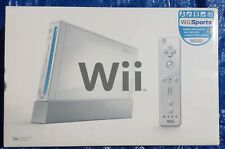 Nintendo Wii Sports Console System W/Mario sports Mix,Top-shot Arcade With Guns