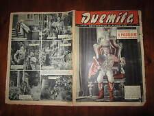"""FOTOROMANZO """"DUEMILA"""" SETTIMANALE DI AVVENTURE NUMERO 26 DEL 1 LUGLIO 1951"""