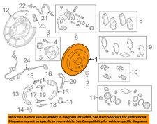 TOYOTA OEM 2018 Camry-Disc Brake Rotor 4243106220