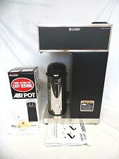 Bunn 332000012 Vpr Aps Pourover Airpot Coffee Brewer With Airpot