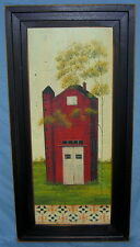 """Larger Dotty Chase Framed Print - """"The Olde Barn"""" - 20"""" x 8"""""""