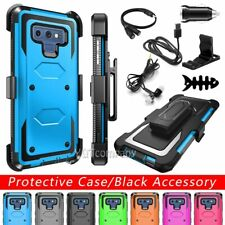 For Samsung Galaxy Note 9/Note8 Hybrid Belt Clip Hard Phone Case Cover+Accessory
