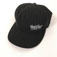 Mossimo pinstripe hat cap grey fitted US hat size 7 1/2 hbx131