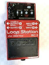 Boss RC-3 Looper Guitar Effect Pedal  FREE SHIPPING  FROM JAPAN