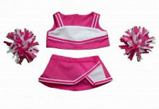 """Teddy Bear Pink & White Cheerleader Clothes Fit 14""""-18"""" Build-a-bear !New!"""