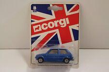 """Corgi Junior """"Austin Mini Metro"""" - Metallic Blue (UNOPENED/Original 1981)"""