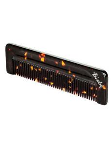 Bixby Fine Tooth Comb Tobacco Mens Fine To Medium Hair 133 x 5.5 x 35mm