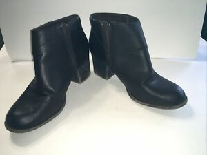Forever 21 Dark Brown Ankle Boots, Size 8 1/2 With 2 1/2 Inch Heel🔥FreeShip 🔥