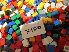 Lego One Hundred x 1x1 BRICK MIX - Various Mixed Colours x 100