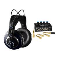 AKG K240 MKII Professional Studio Headphones with Knox  Headphone Amplifier
