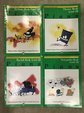Alfred's Piano Beginner Level 1B - Lot of 4
