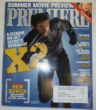 Premiere Magazine X-Men 2 & Hugh Jackman June 2003 031115R