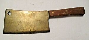 NICE VINTAGE LEXINGTON 208 CHEF'S BUTCHER'S MEAT CLEAVER ~ GOOD SOLID TOOL