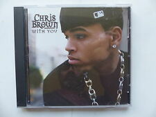 CD 2 TITRES pROMO CHRIS BROWN With you 88697 21156 2