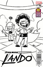 SDCC 2015 Exclusive Star Wars Lando #1 Young B&W Previews Variant Cover