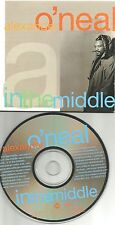 ALEXANDER O'NEAL In the Middle w/ EDIT & INSTRUMENTAL PROMO DJ CD Single Oneal