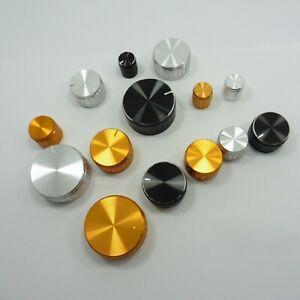 Aluminum Volume Control Knob Potentiometer 6mm Rotary Shaft Volume