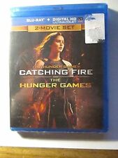 The Hunger Games and Catching Fire 2-Movie Set Blu-ray + Digital HD