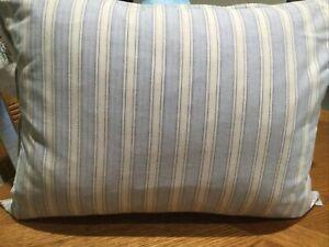 "Lauren RalphLauren Crambray Stripe 15"" x 20"" Decorative Pillow Dune Linen"