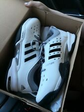 Adidas Barricade Classic Wide 4E Tennis Shoes White BY2920 Men's Size 11.5 NEW