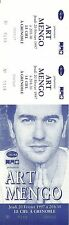 RARE / TICKET BILLET DE CONCERT - ART MENGO A GRENOBLE 1997 / COMME NEUF
