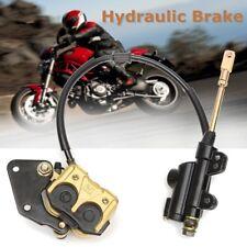 Hydraulic Rear Disc Brake Caliper System For 120cc 250cc Quad Dirt Pit Bike ATV