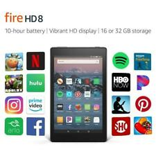 "Amazon Kindle Fire HD 8 8"" Tablet 32GB (Previous Generation 7th, 2017) - Black"