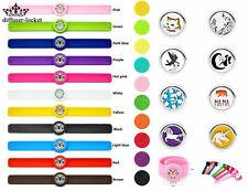 Children Adjustable aromatherapy Bracelet Essential Oil bracelet Diffuser Locket