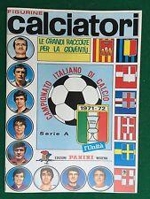 Album CALCIATORI 1971-1972 71-72 , Ristampa L'Unita' , Figurine Panini Serie A