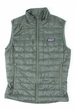 Patagonia Mens Nano Puff Vest Forge Grey XS New