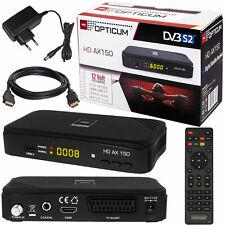 Sat receiver PVR easyfind TVAD digital satélite dvb-s2 HDMI USB HDTV 230/12v
