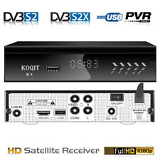 Galaxy 19 DVB-S2 Digital Satellite TV Receiver FTA Sat Player USB Video Capture