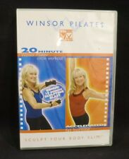 Winsor Pilates Exercise DVD 20 Minute Sculpt Your Body Slim Circle Fat Burning