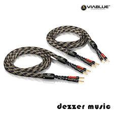 ViaBlue 2x 3,00m SC-4 Single Wire Crimped HIGHEND Lautsprecherkabel Ader/3...TOP
