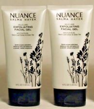 2 Nuance Salma Hayek Wild Lime Exfoliating Facial Gel + Neem Leaf, Tea 4 oz