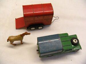 CORGI TOYS: Land Rover and Pony Trailer Ser