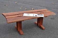 Jon Hills Cherry Rough Cut Coffee Table