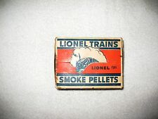 Lionel Box of 12 ORIGINAL BOTTLES OF SP Smoke Pellets, 50 pills in  each bottle