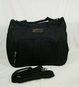 Delsey Paris Luggage Helium Lite 100 Personal Tote Black EUC