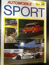 Iconplan Ltd, Book, Automobile Sport 81/82