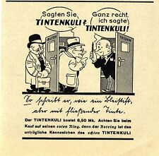 ROTRING TINTENKULI Historische Reklame von 1937