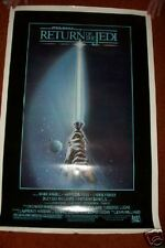Return Of The Jedi 1983 original  41 x 27  Movie poster  ONE SIDED