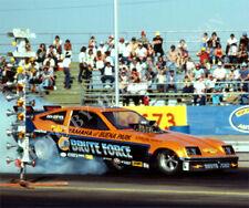 FUNNY CAR PHOTO JOHN FORCE DRAG RACING BAKERSFIELD 1977