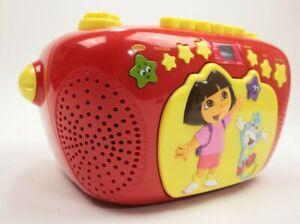 Vtg Dora The Explorer Nickelodeon Portable Cd Cassette Player AM/FM Radio Stereo