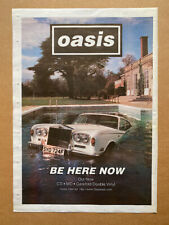 More details for oasis be here now (b) poster sized original music press advert from 1997 - print
