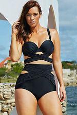 Costume Da Bagno Monokini Taglie forti Grandi Curvy Formosa Plus Size XXXXL